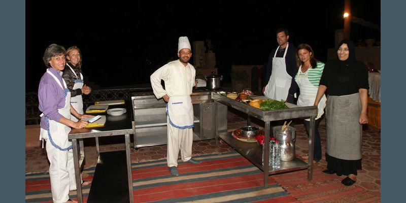 Cooking Class at Kasbah Omar