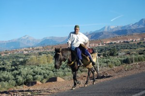 Berbers in the Mountains, traditional berber lifestyle